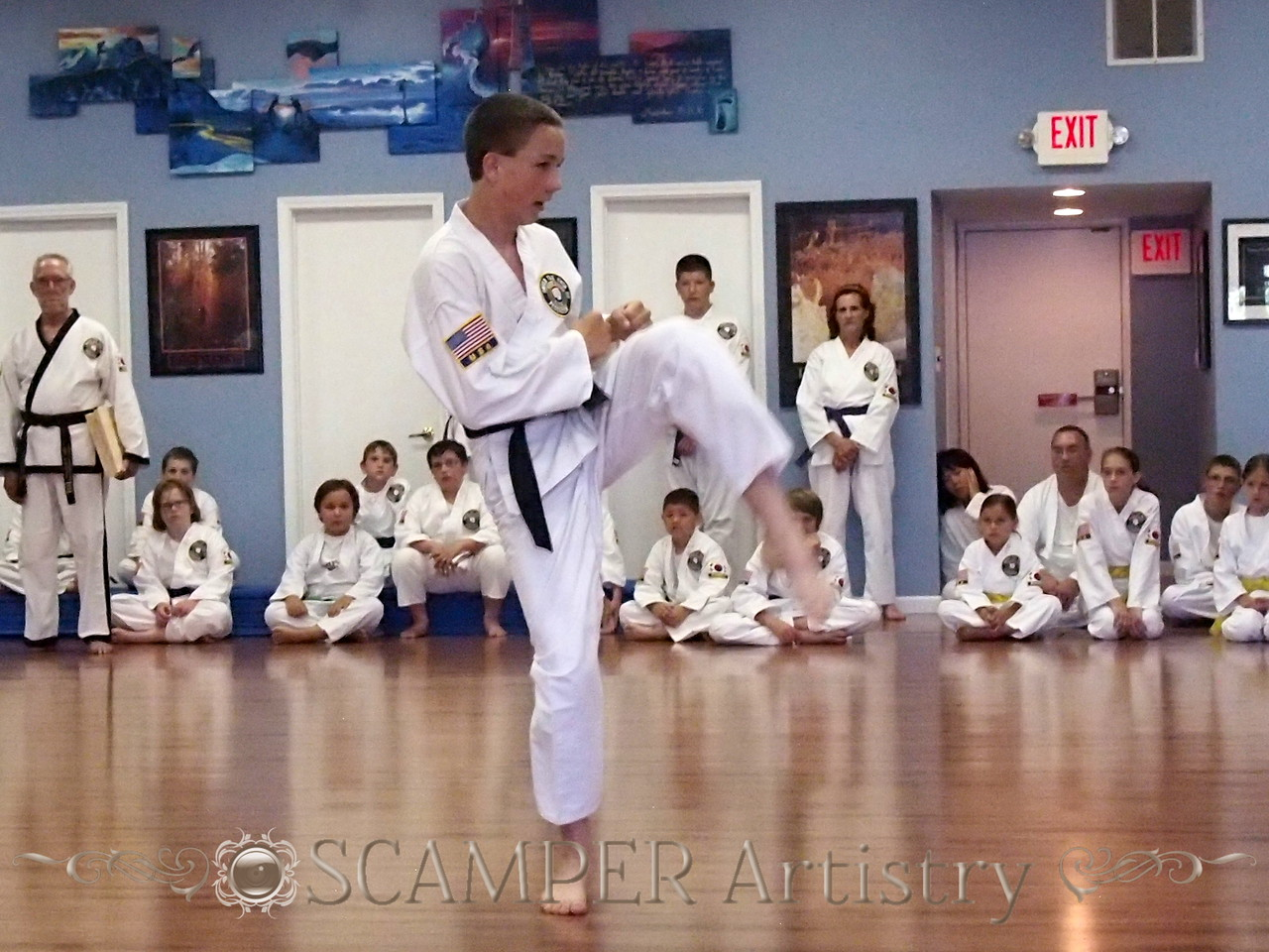 American Tae Kwon Do, June 07, 2014 Testing
