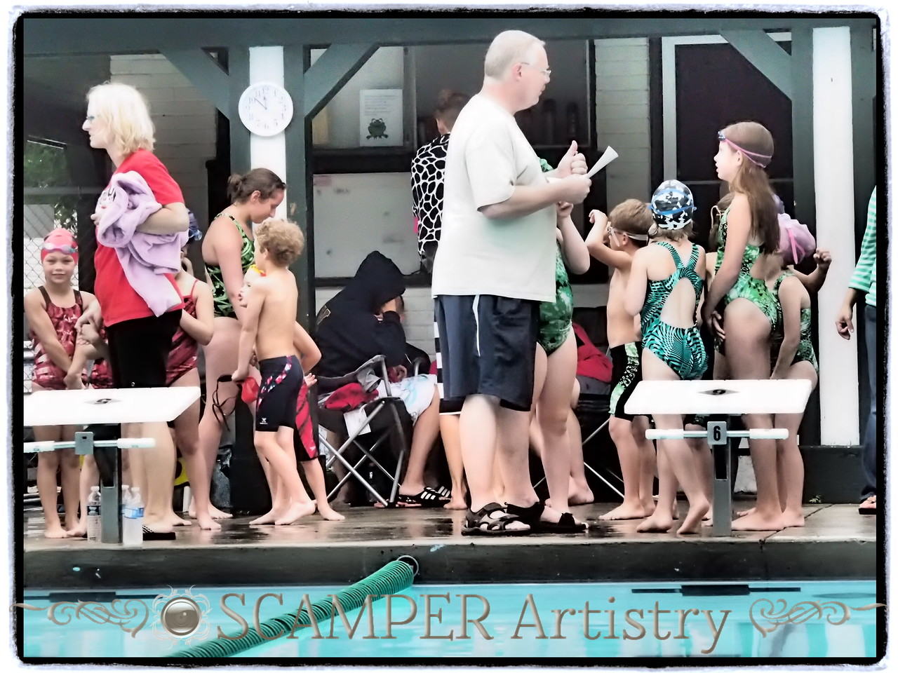 Brookwood Barracudas at Fallen Timbers Frogs, July 2, 2013