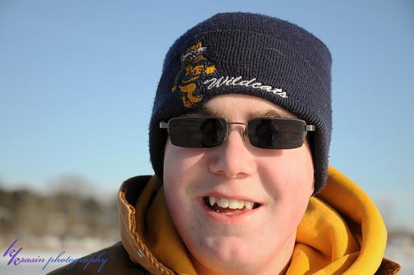 Nick the ice-fisherman