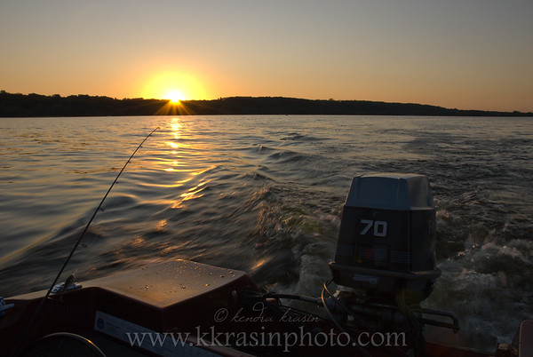 Sunset on the Croix