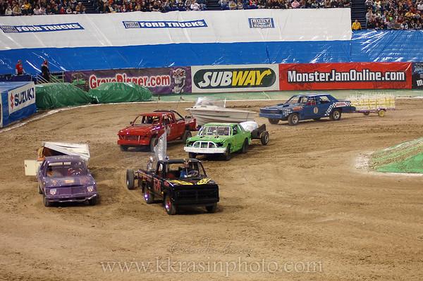 Trailer racing?!?