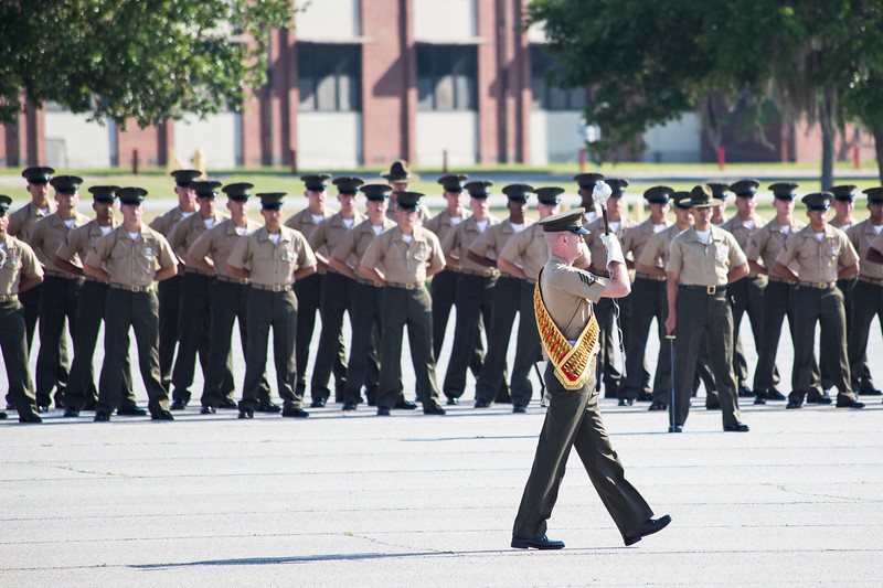 My dad and I went to the Marine Corps boot camp graduation at Parris Island on Friday before the Stand Alone Marines volunteer group.  Quite the inspiring sight.