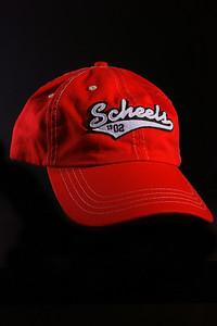 Red Scheels Cap