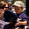 Jason's first baseball glove
