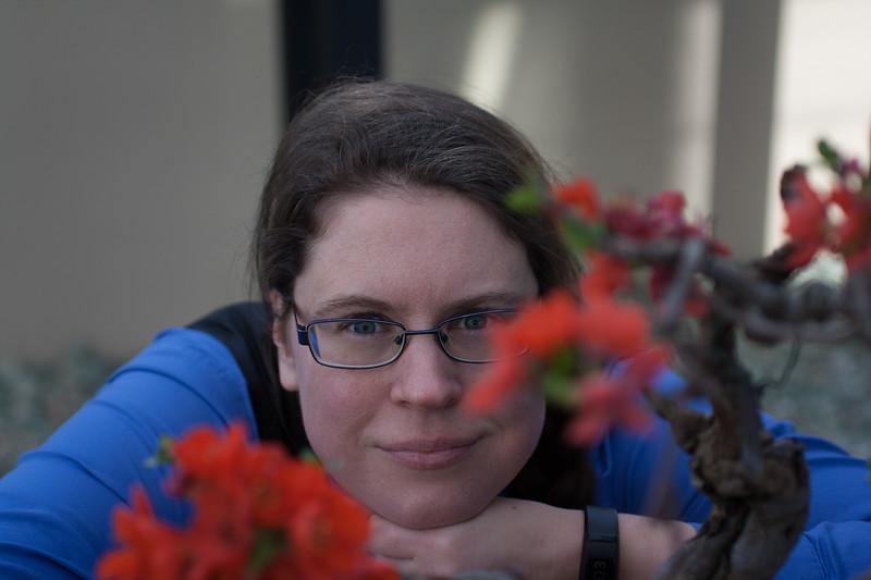 Susanne watches Bonsai