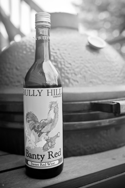 Bully Hill wine goes well with everything.  No, really.  It does.