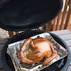 Checking in on the turkey.... almost there.  It's so pretty.