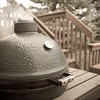 "This is where it gets easy.  With the Big Green Egg, it's ""set it and forget it""."