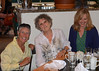ct Susan & Susan 9151 -- August 21, 2013.  Christina, Susan and Susan Reilly at the Mediterranean Restaurant on Walnut Street in Boulder.