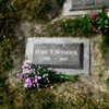 Grave of aunt May<br /> Forest Lawn Memorial Park, Vancouver, Canada