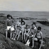 Pat, Mummy, Eithne, Bernadette, Margaret, and Seamus.<br /> Approx. 1962 or 63