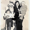 Margaret, Kathryn and Gerard and Santa