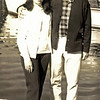 Sheila and Bertie. Australa. Around 1970