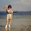 Sheila posing 1996