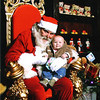 Jude Joseph Perry and Santa<br /> Christmas 2008