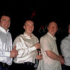 Danny Sloan with brothers Seamus, Tony and John Perry