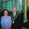 Chris Perry and Lord Mayor Alex Maskey