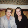 Grainne Maskey and her grannie Maskey
