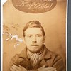 Sam Hale. My great-great grandfather and father of granny Perry.<br /> Photo taken 1881 in Kilmainham gaol.<br /> Samuel was arrested for house breaking and larceny in 1881. While awaiting trial he picked the lock of his cell and escaped over the wall of Kilmainham. He then managed to stow himself away on a boat headed for England but he was apprehended when he reached Liverpool and sent back to Kilmainham.<br /> Prison escapes were a rare occurance and as such Sam Hale is quite unique!