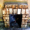 Lovely little fireplace that had been abandoned. I hope I brought new life to it :)