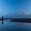 Amanecer en Lago Grey