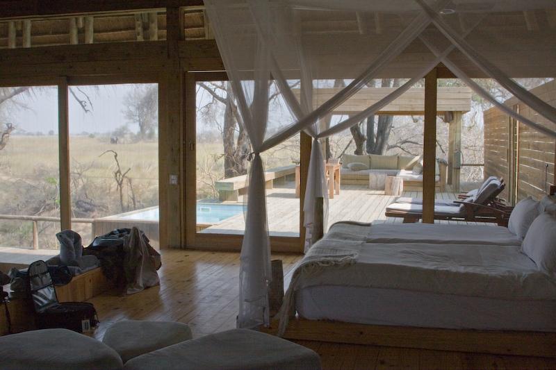 My room at Vumbura Camp
