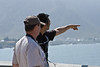 Peter & I spotting whales in Hermanis.  This is one of the best places in the world for whale watching .