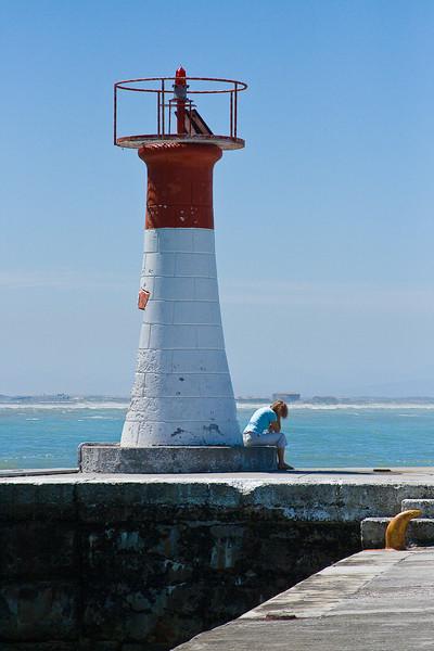 Lighthouse at Kalk's Bay