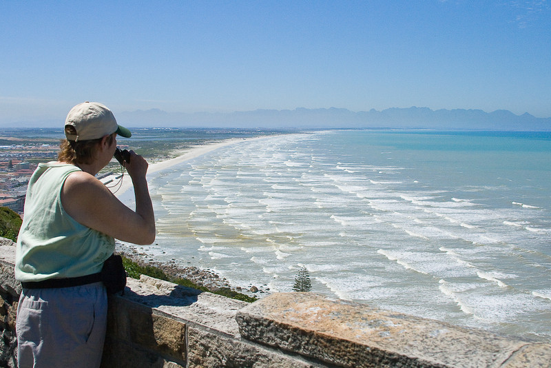 Muizenberg Beach is famous for surfing & shark attacks