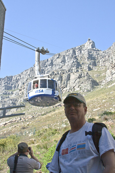 The new tram at Cable Mountain