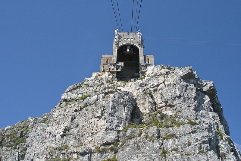 Top of Table Mountain tram