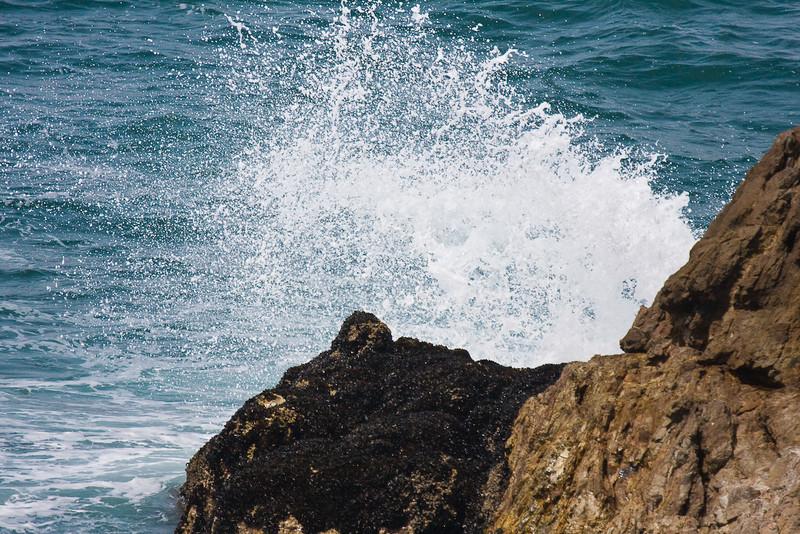 Breaking wave at Hermanis
