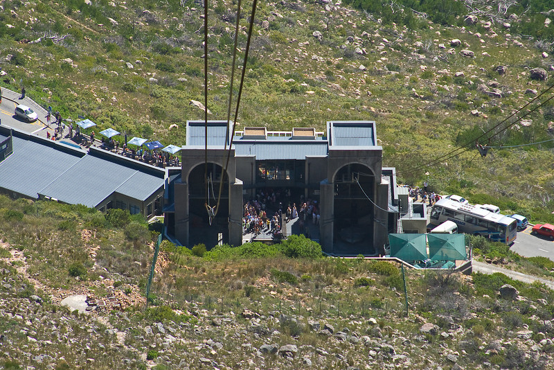 Bottom of Table Mountain tram