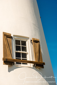 LIghthouse Window, St. George Island, Florida
