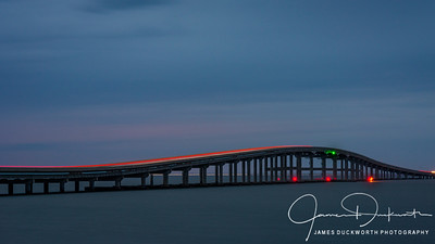 Blue Hour at St. George Island Bridge, Florida