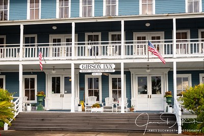 Gibson Inn Closeup View, Apalachiacola, Florida