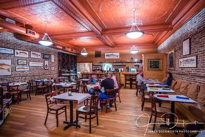 Tamara's Cafe Interior, Apalachiacola, Florida