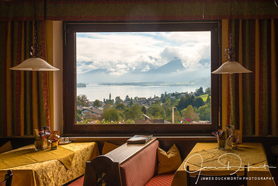 Dining with a View near Salzburg