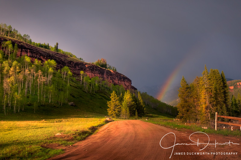 Sandstone Road Rainbow II