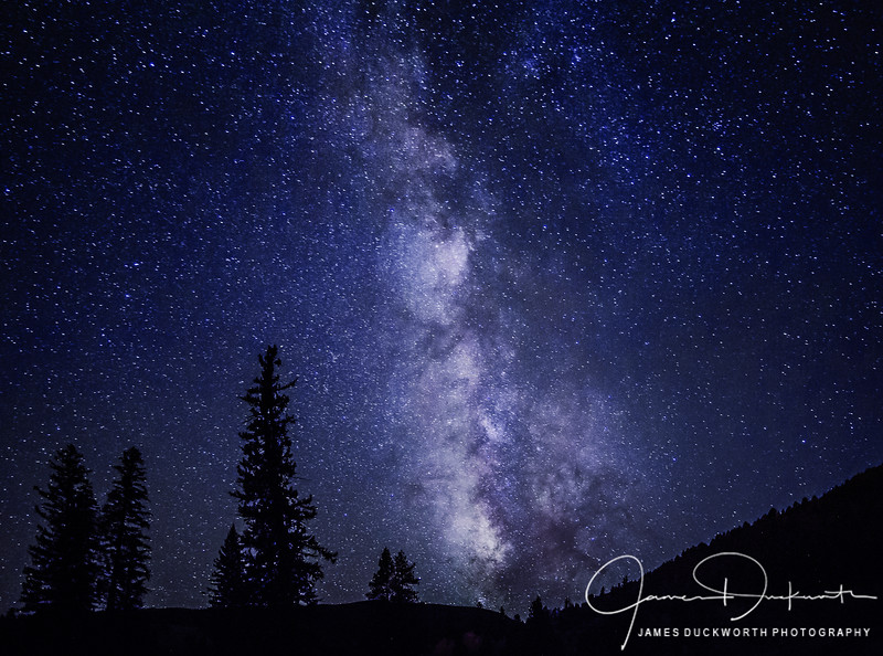 Milky Way from Vail Colorado