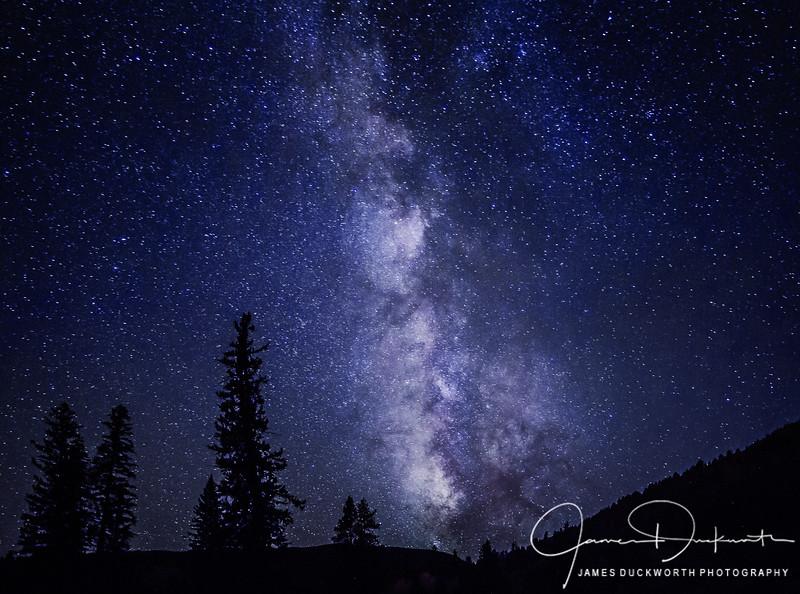 Milky Way from Vail Colorado
