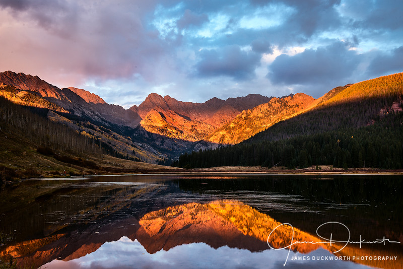 Piney Lake Alpenglow-2