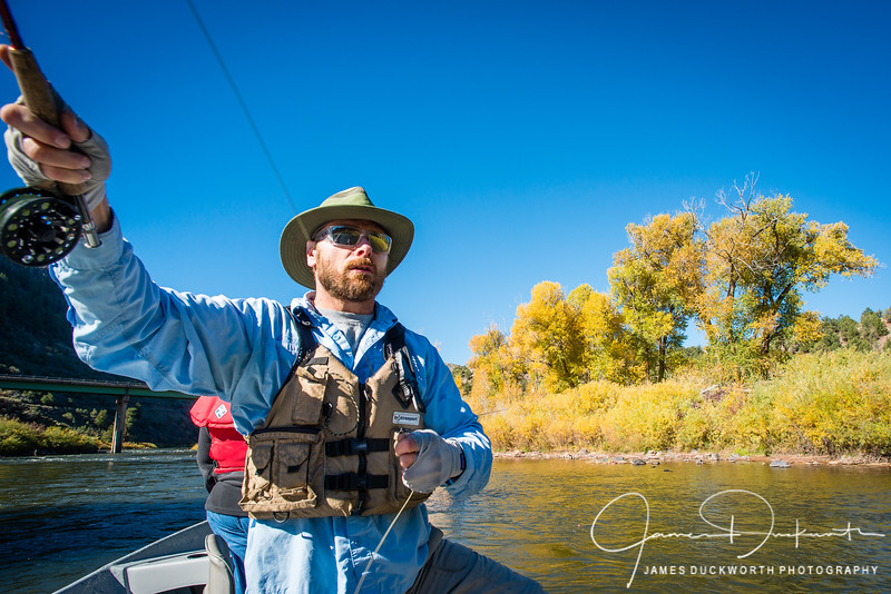 Fly Fishing on the Colorado