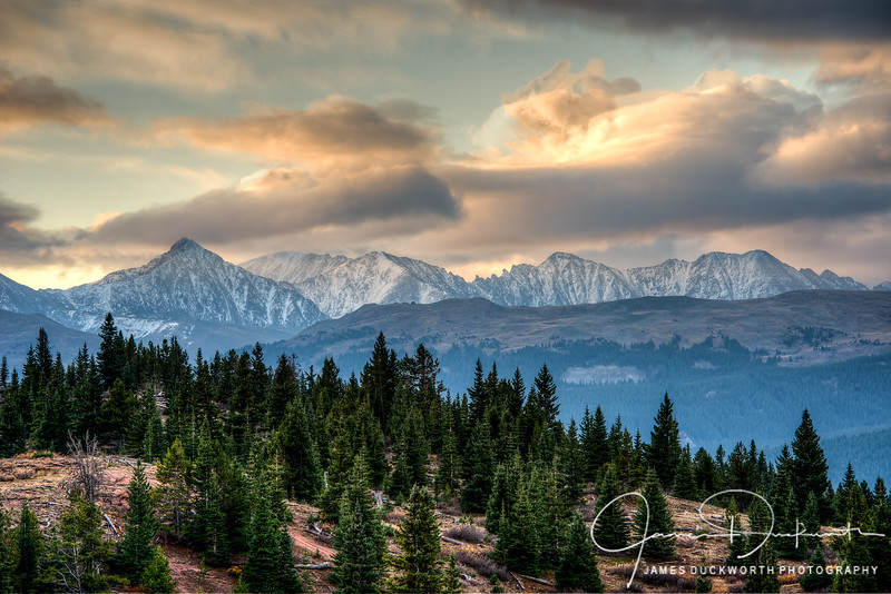 Tenmile Range from Vail Pass