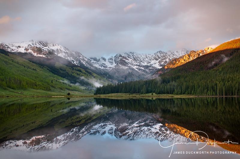Piney Lake Sunset I