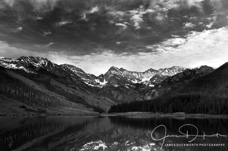 Piney Lake Monochrome