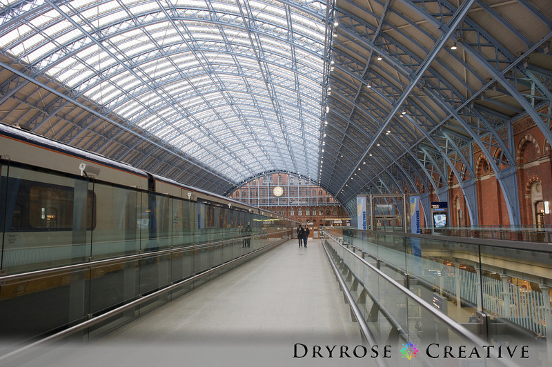 King's Cross/St. Pancras International Rail Station, London