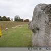 Part of the stone henge at Avebury, UK