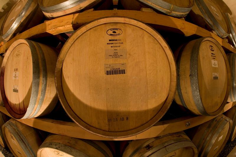 Wine Barrels in Niagara On The Lake