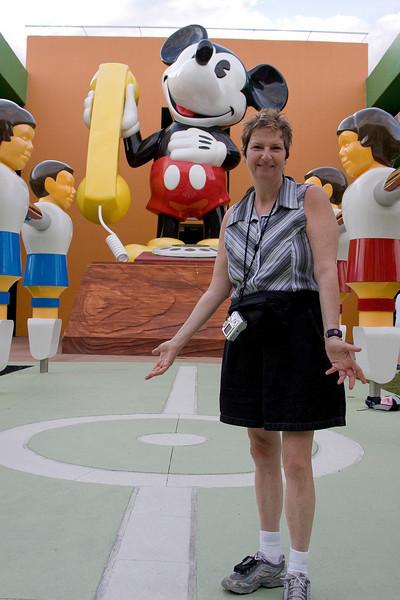 Bev at Disney's Pop Century Resort.